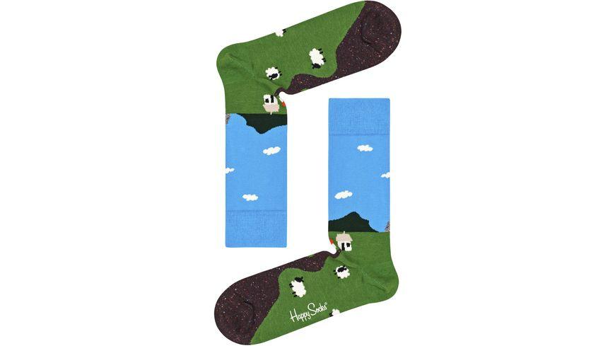 Happy Socks Unisex Socken Little House of Moorland