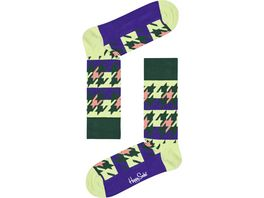 Happy Socks Unisex Socken Dogtooth