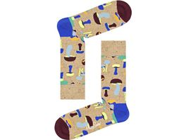 Happy Socks Unisex Socken Mushroom