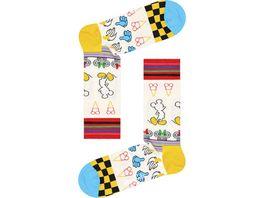 Happy Socks Unisex Socken Sunny Sketch