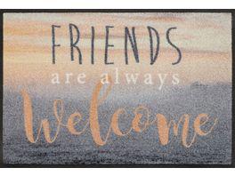 wash dry Fussmatte Welcome Friends 50x75cm