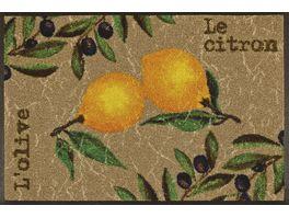 wash dry Fussmatte Le Citron 50x75cm