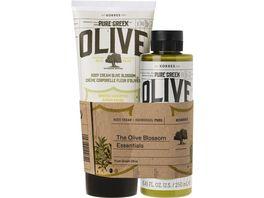 KORRES Olive Blossom Koerperpflege Vorteilset 2er