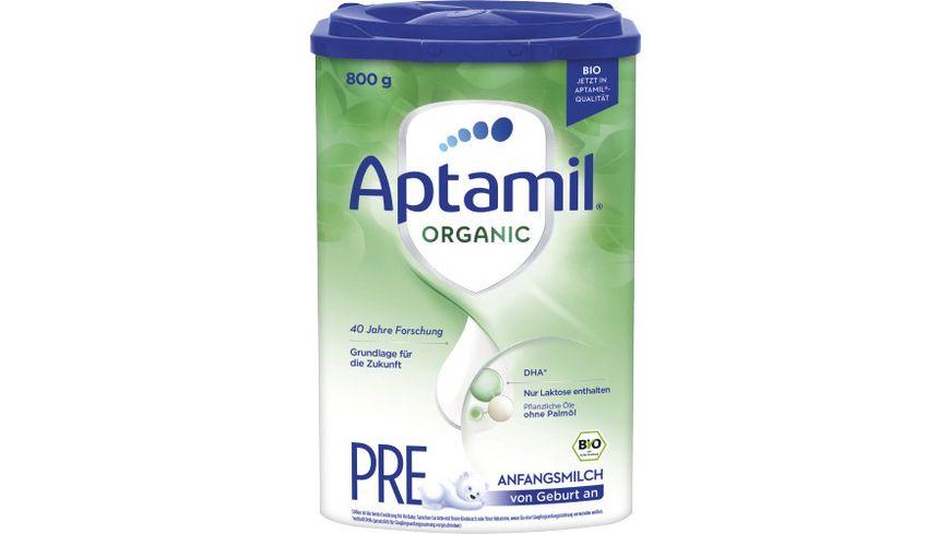 Aptamil ORGANIC PRE Anfangsmilch von Geburt an