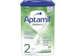 Aptamil ORGANIC 2 Folgemilch nach dem 6 Monat