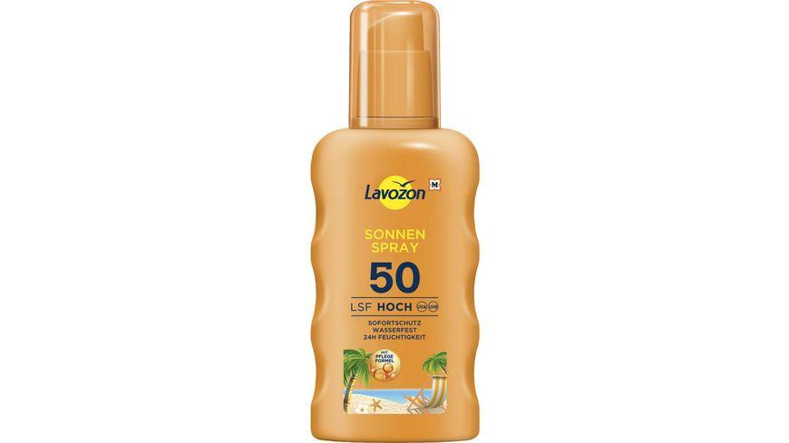 LAVOZON Sonnenspray LSF 50