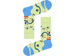 Happy Socks Unisex Socken Walk in the Park