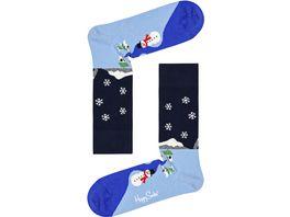 Happy Socks Unisex Socken Little House Snowl