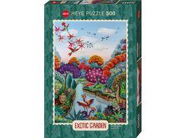 Heye Standardpuzzle Plant Paradise 500 Teile