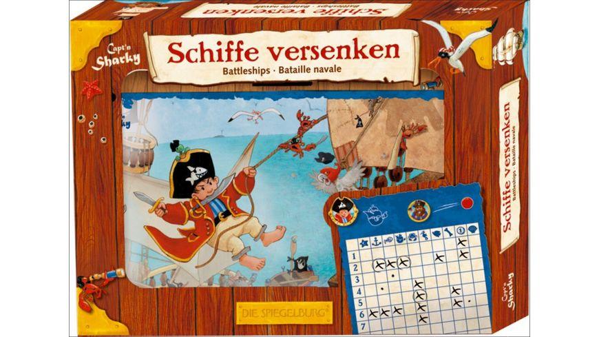 Die Spiegelburg - Capt'n Sharky - Spiel Schiffe versenken