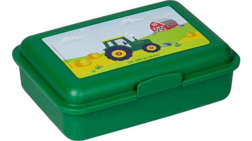 Die Spiegelburg - Wenn ich mal groß bin - Butterbrotsdose Traktor