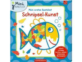 Die Spiegelburg Verlag Mini Kuenstler Mein erstes Bastelset Schnipsel Kunst