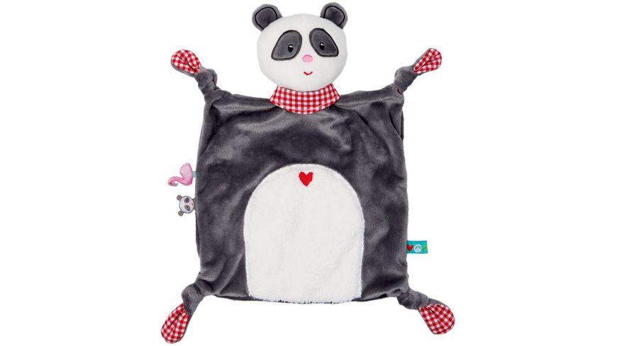 Die Spiegelburg - BabyGlück - Schnuffeltuch Panda