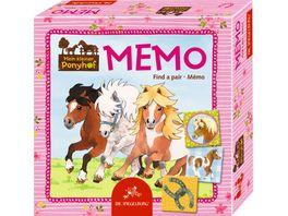 Die Spiegelburg Mein kleiner Ponyhof Memo