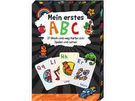 Die Spiegelburg Mein erstes ABC Wisch Weg Wendekarten Funny Patches