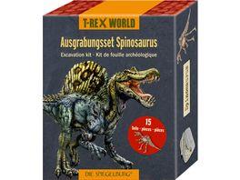 Die Spiegelburg Ausgrabungsset Spinosaurus T Rex World ca 19x12x4 cm