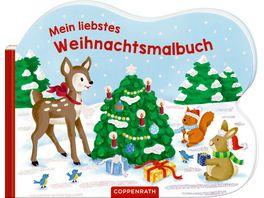 Coppenrath Verlag Mein liebstes Weihnachtsmalbuch