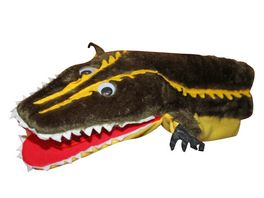Krokodil lang klappert