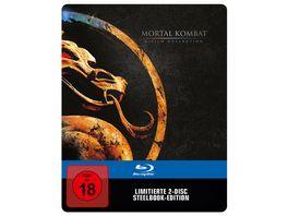 Mortal Kombat 1 2 Blu ray Steelbook Exklusiv