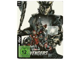 The Avengers 4K UHD Mondo Steelbook Edition
