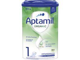 Aptamil ORGANIC 1 Anfangsmilch von Geburt an