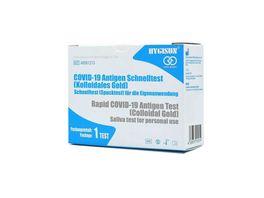 HYGISUN Covid 19 Antigen Spucktest