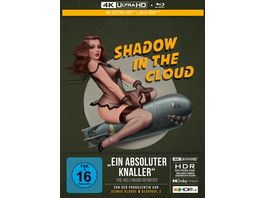 Shadow in the Cloud 2 Disc Limited Collector s Edition im Mediabook 4K Ultra HD Blu Ray 2D