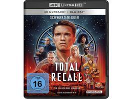 Total Recall Uncut 4K Ultra HD Blu ray 2D