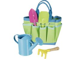 Goki Gartenwerkzeug mit Tasche 63892