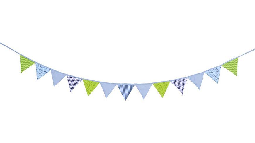 Goki Wimpelkette blau-grün  60767