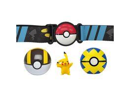 Pokemon Clip n Go Guertelset Pikachu Flottball Hyperball