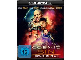Cosmic Sin Invasion im All Limited Edition 4K Ultra HD