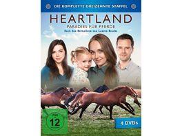 Heartland Paradies fuer Pferde Staffel 13 4 DVDs