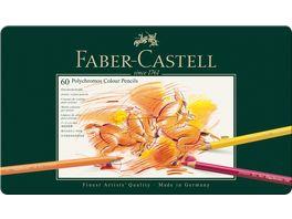 FABER CASTELL Farbstift Polychromos 60er Metalletui