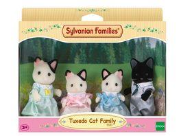 Sylvanian Families Tuxedo Katzen Familie L5181