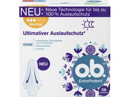 o b Tampons ExtraProtect Normal
