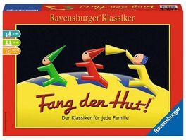 Ravensburger Spiel Fang den Hut Huetchenspiel fuer 2 6 Spieler Familienspiel ab 6 Jahren Ravensburger Klassiker