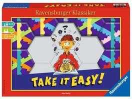 Ravensburger Spiel Take it easy Legespiel fuer 2 4 Spieler Strategiespiel ab 10 Jahren Ravensburger Klassiker