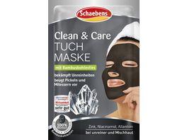 Schaebens Clean Care Tuchmaske 1 Stueck