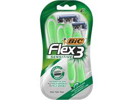 BIC Flex3 Sensitive Einwegrasierer