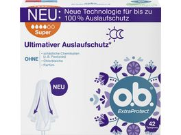 o b Tampons ExtraProtect Super