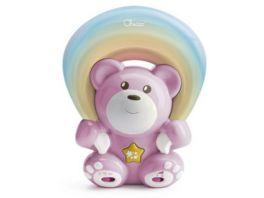 Chicco Regenbogenbaer rosa Projektor und Spieluhr