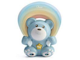 Chicco Regenbogenbaer blau Projektor und Spieluhr