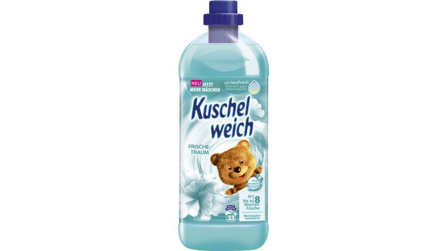 Kuschelweich Frischetraum Weichspüler 33 WL