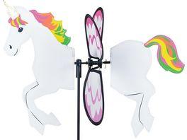 ELLIOT Petite Spinner Einhorn Unicorn 32 cm 45 x 36 cm Windspiel 1016089