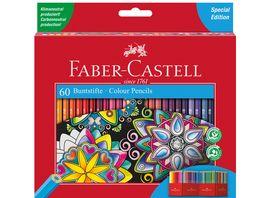 FABER CASTELL Classic Colour Buntstift 60er Kartonetui