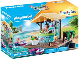 PLAYMOBIL 70612 Family Fun Paddleboot Verleih mit Saftbar