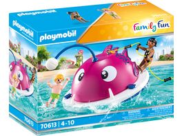 PLAYMOBIL 70613 Family Fun Kletter Schwimminsel