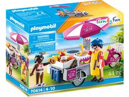 PLAYMOBIL 70614 Family Fun Mobiler Crepes Verkauf