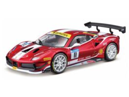 Bburago Ferari Racing 1 24 Ferrari 488 Challenge Formula Racing 2017